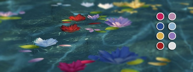 Sims 4 Floating Florals at Magnolian Farewell