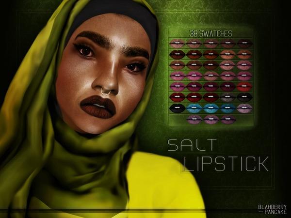 Sims 4 Salt Lipstick by Blahberry Pancake at TSR