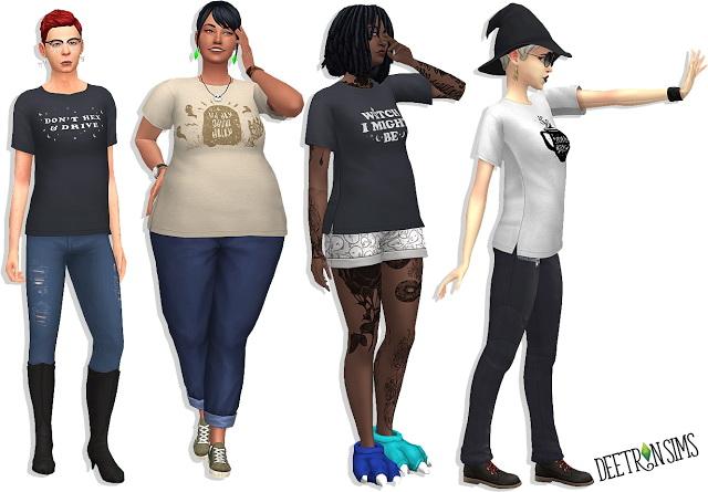 Belladonna Dress at Deetron Sims » Sims 4 Updates