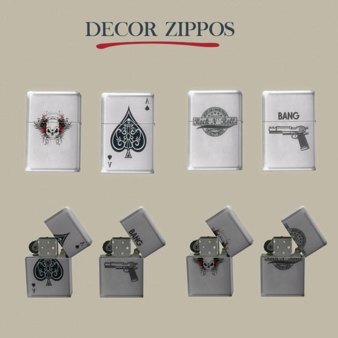 Decor Zippos at Leo Sims image 2142 670x670 Sims 4 Updates