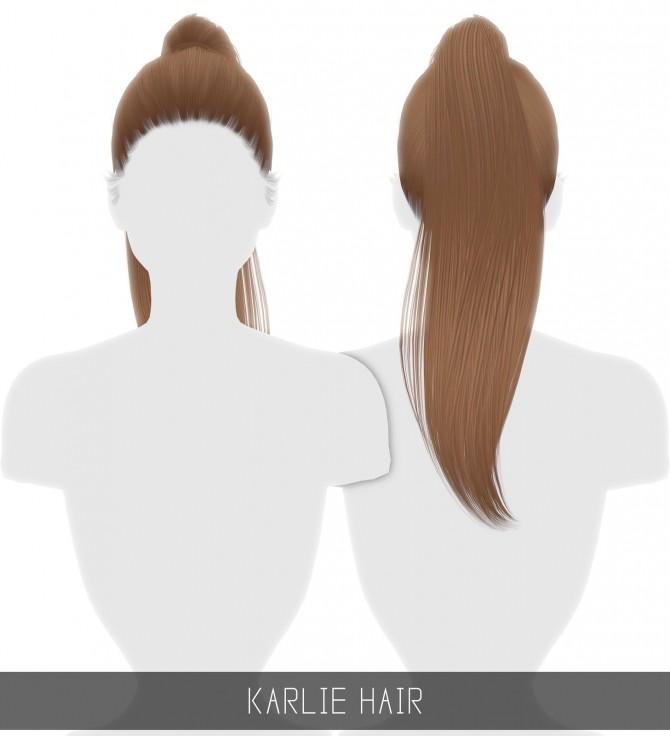 Sims 4 KARLIE HAIR at Simpliciaty