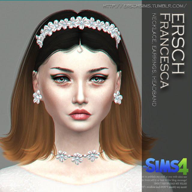 Francesca Set at ErSch Sims image 219 Sims 4 Updates