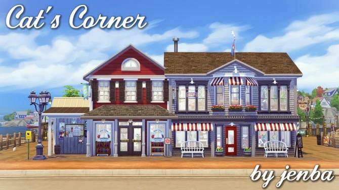 Sims 4 Cat's Corner at Jenba Sims