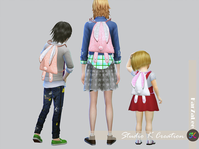 Bunny Backpack At Studio K Creation 187 Sims 4 Updates