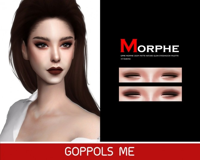 MATTE NATURE GLOW EYESHADOW PALETTE at GOPPOLS Me image 2251 670x535 Sims 4 Updates