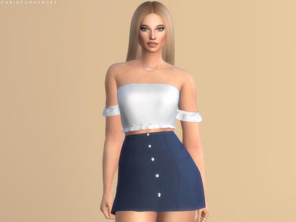 Cassanova Skirt by Christopher067 at TSR image 230 Sims 4 Updates