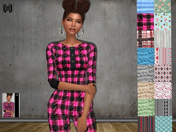 Sims 4 MP One Piece PJ N1 by MartyP at TSR