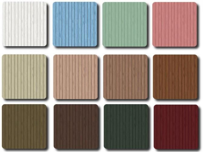 Sims 4 New Wood Floor Collection at TaTschu`s Sims4 CC
