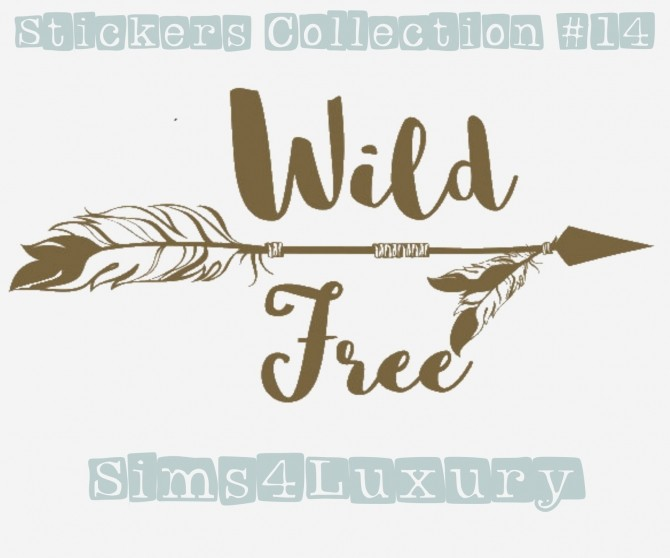 Sims 4 Stickers Collection #14 at Sims4 Luxury