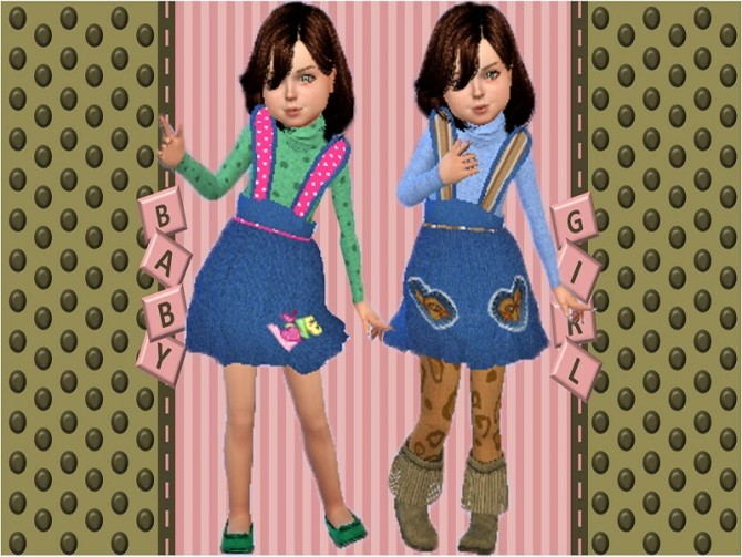 Denim skirts at Trudie55 image 2403 670x503 Sims 4 Updates