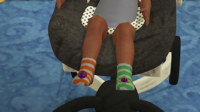 Sims 4 NINYO TOY SOCKS at REDHEADSIMS