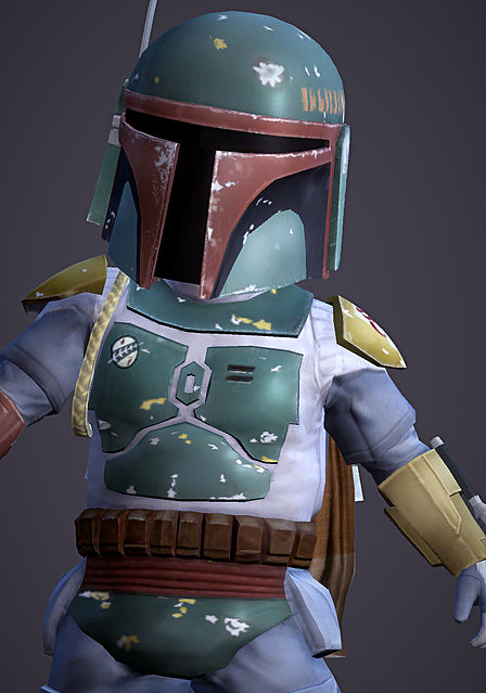 Sims 4 Lil Boba Fett Toddler Costume at Magnolian Farewell