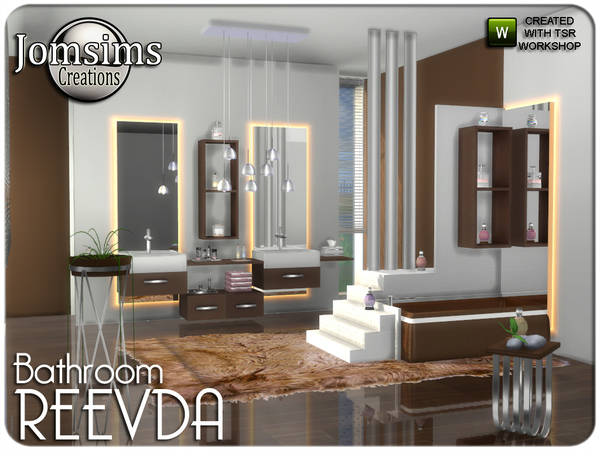 Reevda bathroom by jomsims at TSR image 248 Sims 4 Updates