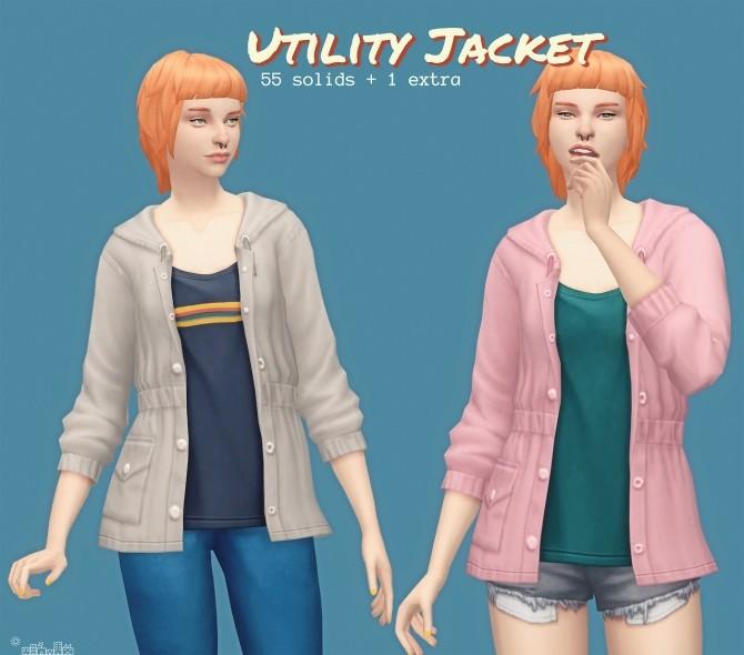 Sims 4 UTILITY JACKET at Picture Amoebae