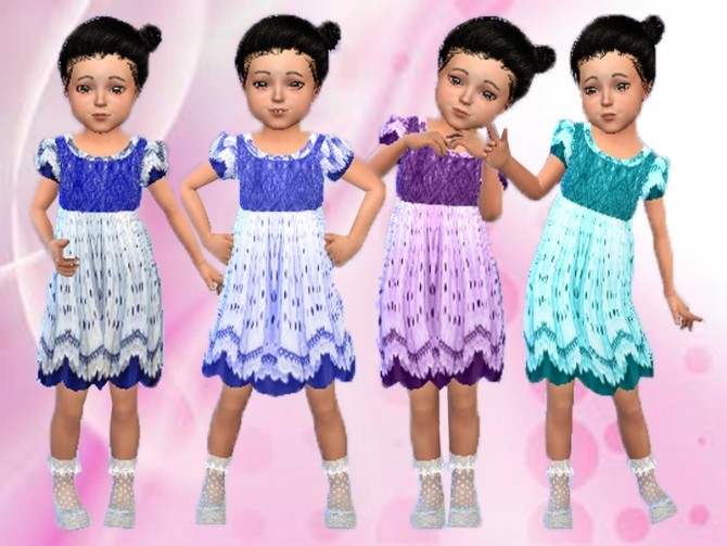 Sims 4 Summer dress at Trudie55