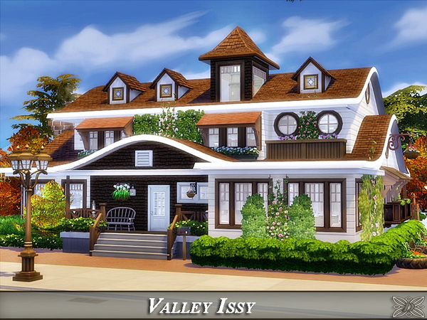 Sims 4 Valley Issy house by Danuta720 at TSR