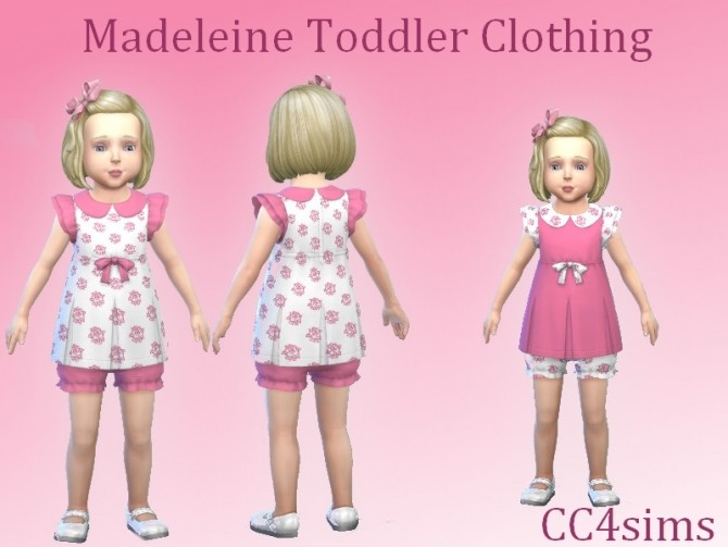 Madeleine outfit T by Christine at CC4Sims image 2633 670x503 Sims 4 Updates