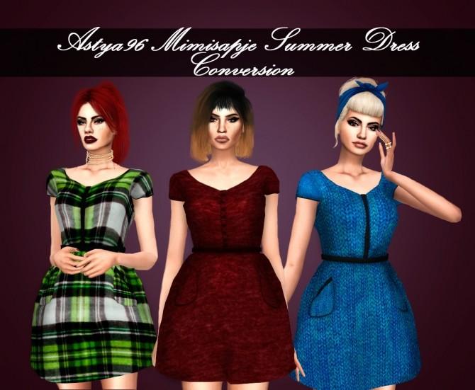Mimisapje Summer Dress Conversion at Astya96 image 2662 670x551 Sims 4 Updates