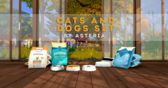 Cats and Dogs Set at Asteria Sims image 2674 670x353 Sims 4 Updates
