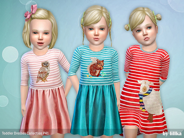 Dresses Collection P41 by lillka at TSR image 268 Sims 4 Updates
