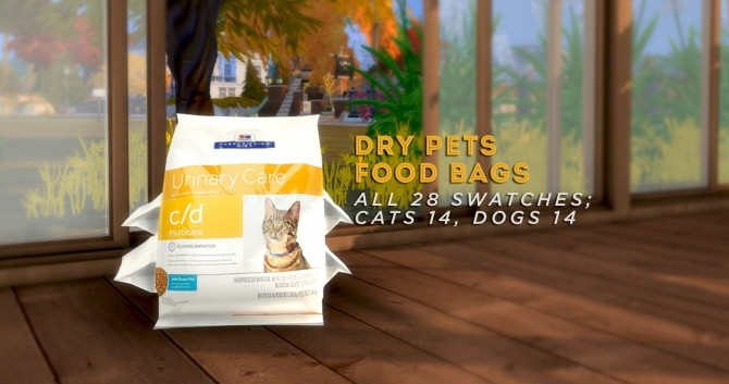 Sims 4 Cats and Dogs Set at Asteria Sims