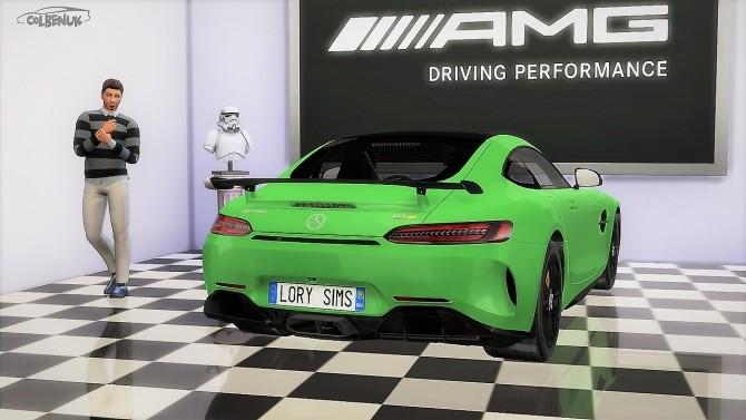 Sims 4 Mercedes Benz AMG GTR at LorySims