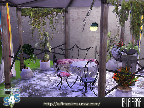 Sims 4 Garden set at Aifirsa
