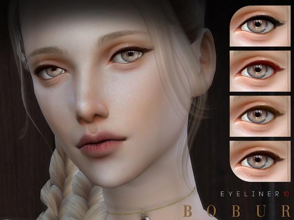 Eyeliner 10 by Bobur3 at TSR image 279 Sims 4 Updates