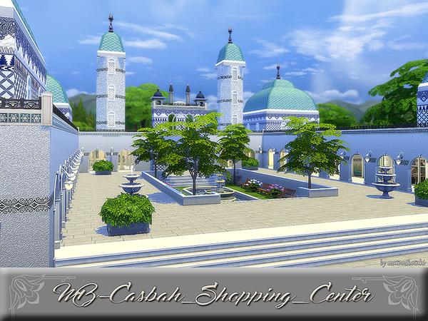 Sims 4 MB Casbah Shopping Center by matomibotaki at TSR