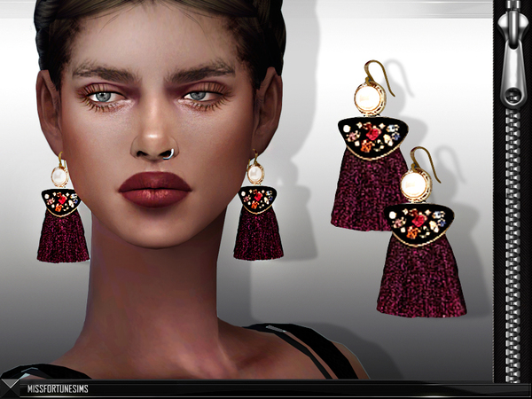 MFS Shay Earrings by MissFortune at TSR image 287 Sims 4 Updates