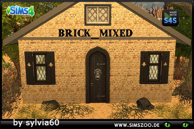 Sims 4 Brick Mixed by sylvia60 at Blacky's Sims Zoo