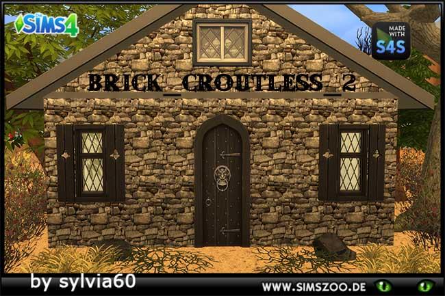 Sims 4 Brick Croutless 2 by sylvia60 at Blacky's Sims Zoo