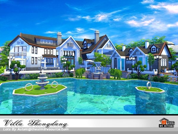 Villa Thangdang by autaki at TSR image 2926 Sims 4 Updates