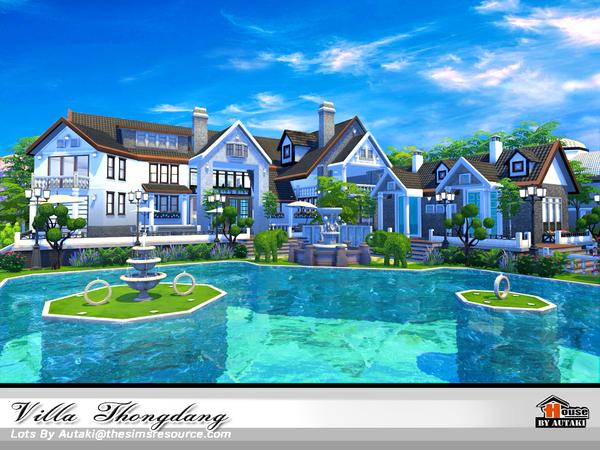 Sims 4 Villa Thangdang by autaki at TSR