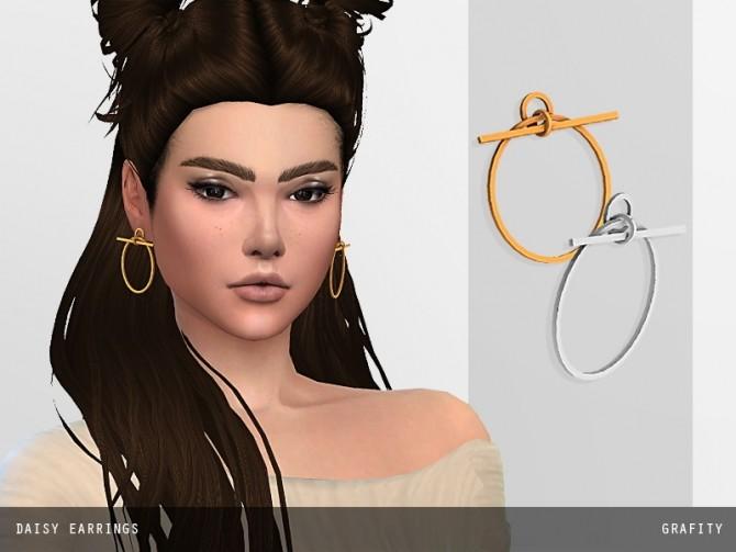 DAISY EARRINGS at Arthurlumierecc – AL image 2971 670x503 Sims 4 Updates