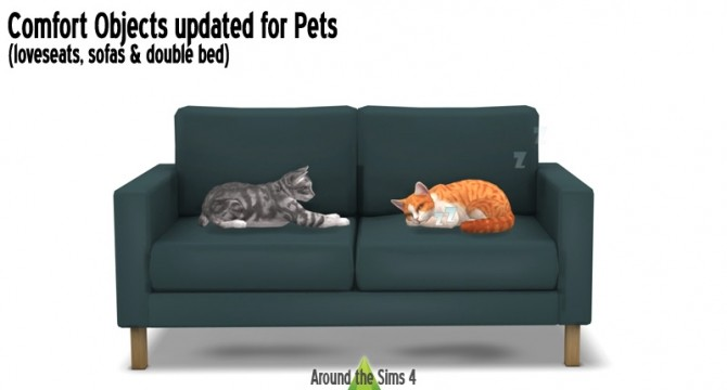 Loveseats Sofas Amp Double Bed Updated For Pets At Around