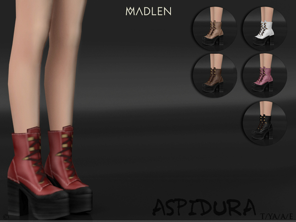 Madlen Aspidura Boots by MJ95 at TSR image 3018 Sims 4 Updates