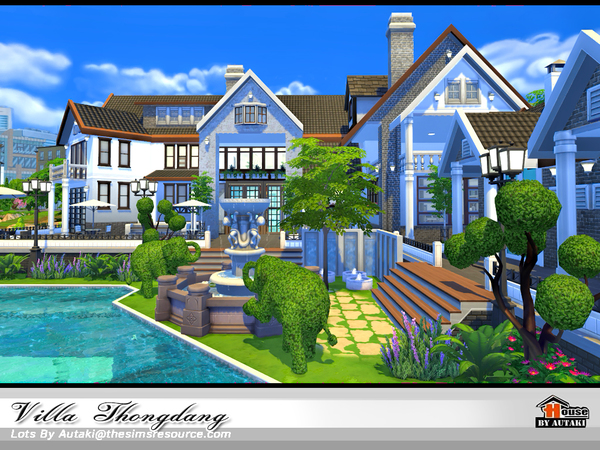 Villa Thangdang by autaki at TSR image 3025 Sims 4 Updates
