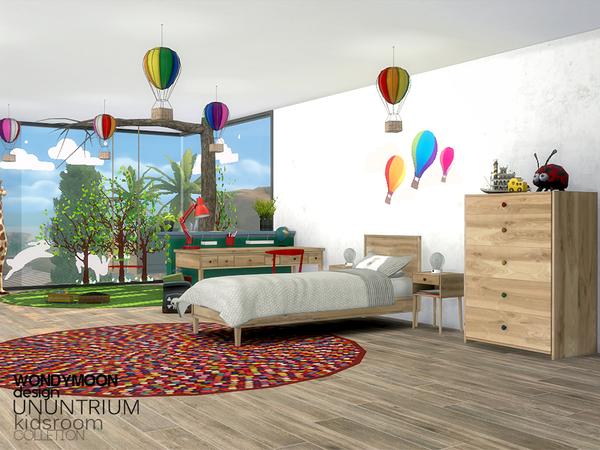 Ununtrium Kidsroom by wondymoon at TSR image 303 Sims 4 Updates