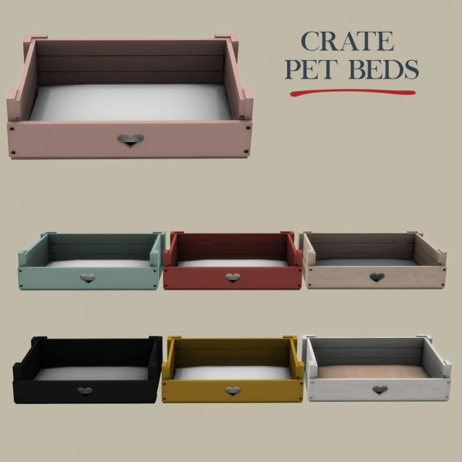 Crate Pet Ped at Leo Sims image 3031 670x670 Sims 4 Updates