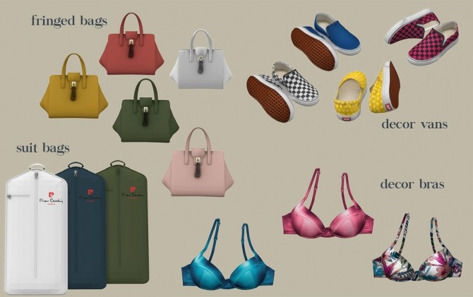 Sims 4 CC's The Best: Deco Vans by Leo Sims   Sims 4