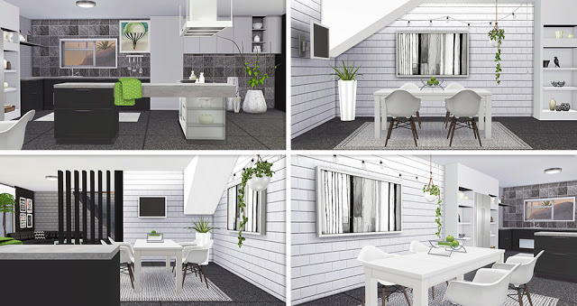 Modern Home 05 by Lorelea at Anarchy Cat image 3081 Sims 4 Updates
