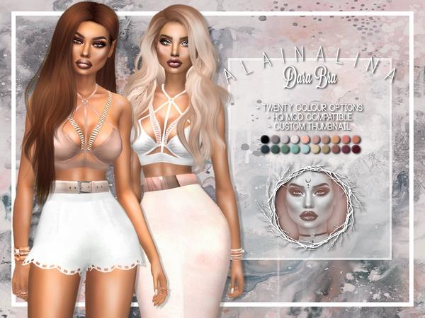 Sims 4 Dara Bra by alainalina at TSR