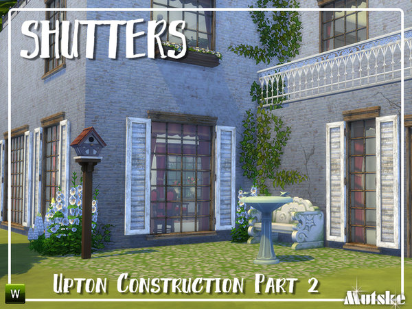 Upton Construction set part 2 by mutske at TSR image 3124 Sims 4 Updates