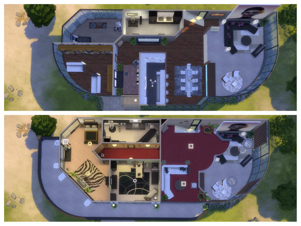 Modern Glass house by RightHearted at TSR image 3128 Sims 4 Updates