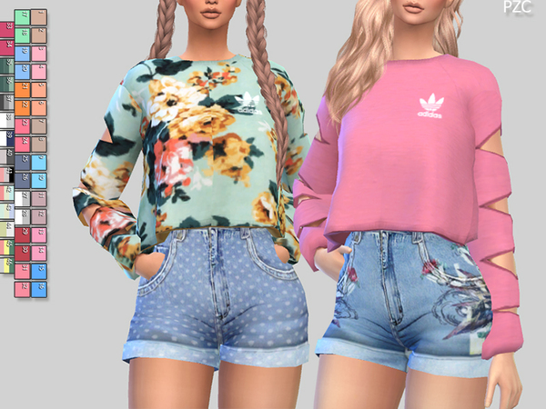 Athletic sweatshirts 056 by pinkzombiecupcakes at tsr for Dress shirts for athletic build