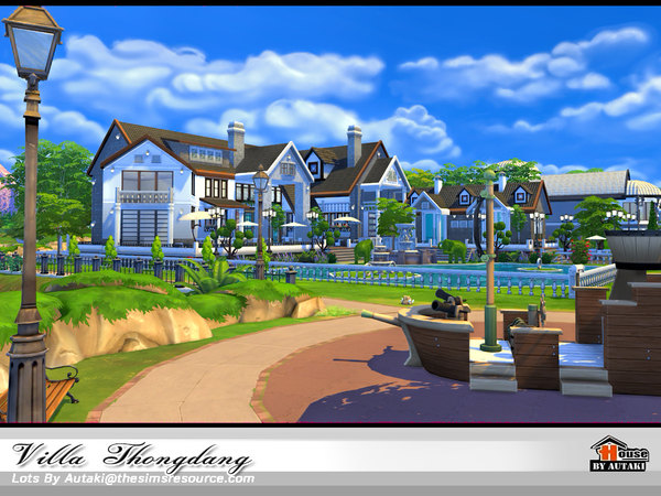 Villa Thangdang by autaki at TSR image 3138 Sims 4 Updates