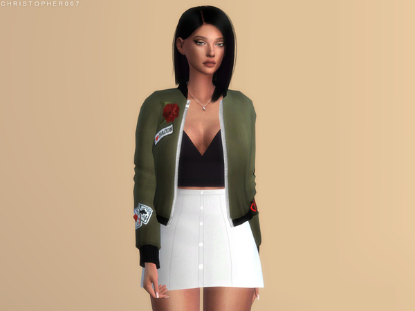 Cassanova Skirt by Christopher067 at TSR image 314 Sims 4 Updates