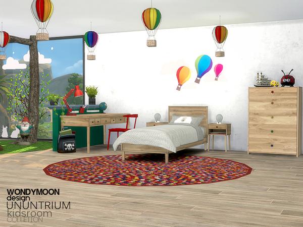 Ununtrium Kidsroom by wondymoon at TSR image 315 Sims 4 Updates