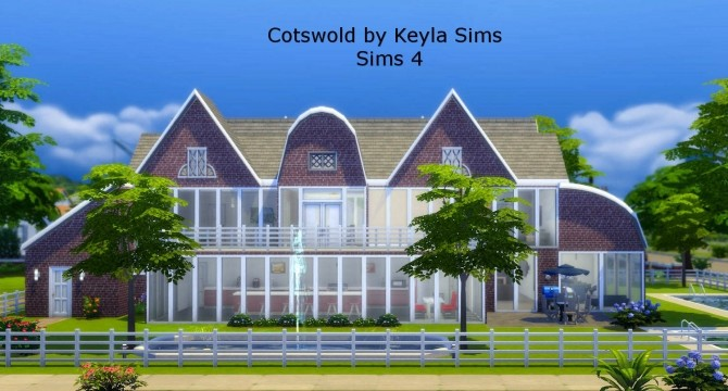 Costwold House at Keyla Sims image 3191 670x360 Sims 4 Updates
